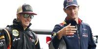Kimi Räikkönen, Mark Webber