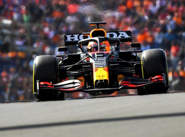 Max Verstappen im Freien Training zum Grand Prix der Niederlande in Zandvoort 2021