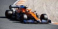 Lando Norris (McLaren MCL35M) im Qualifying beim Formel-1-Rennen in Zandvoort 2021