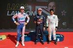 Liam Lawson (AF-Corse-Ferrari) und Arjun Maini (GetSpeed-Mercedes)