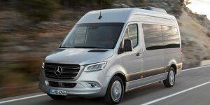 Mercedes-Benz Sprinter: News, Gerüchte, Tests