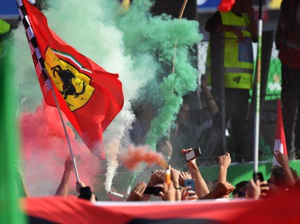 Monza-Fans