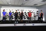 Joan Mir (Suzuki), Alex Rins (Suzuki), Fabio Quartararo (Yamaha), Aleix Espargaro (Aprilia), Jack Miller (Ducati), Pol Espargaro (Honda) und Maverick Vinales (Aprilia)