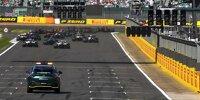 Sprintqualifying in Silverstone