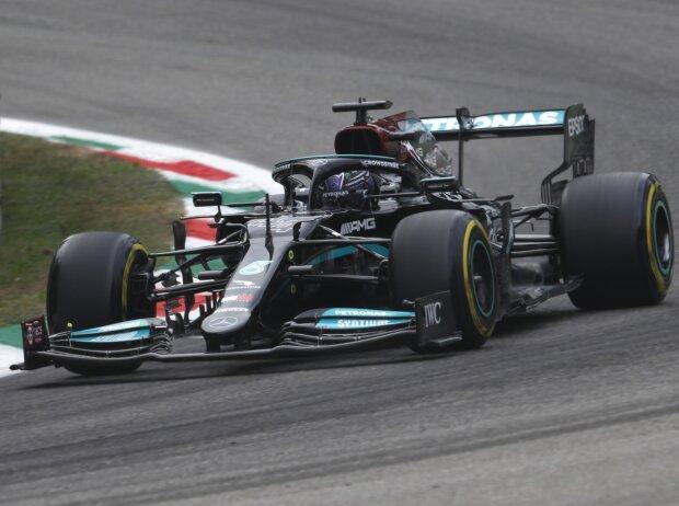 Lewis Hamilton (Mercedes) im ersten Freien Training zum Grand Prix von Italien in Monza 2021