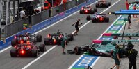 Chaos in der Boxengasse beim Formel-1-Rennen von Italien in Monza 2021