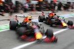 Sergio Perez (Red Bull) und Max Verstappen (Red Bull)