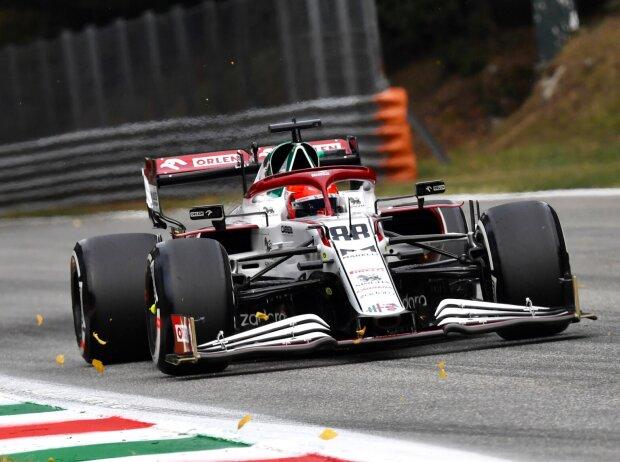 Robert Kubica (Alfa Romeo) im Qualifying zum Formel-1-Rennen von Italien in Monza 2021