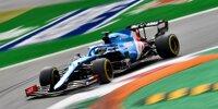 Fernando Alonso (Alpine A521) beim Formel-1-Rennen von Italien in Monza 2021