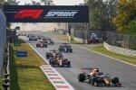 Max Verstappen (Red Bull), Daniel Ricciardo (McLaren) und Lando Norris (McLaren)