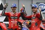 Jack Miller (Ducati) und Francesco Bagnaia (Ducati)