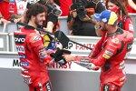 Francesco Bagnaia (Ducati) und Jack Miller (Ducati)