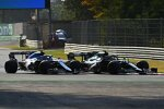 Sebastian Vettel (Aston Martin) und Esteban Ocon (Alpine)