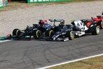 Lewis Hamilton (Mercedes) und Pierre Gasly (AlphaTauri)