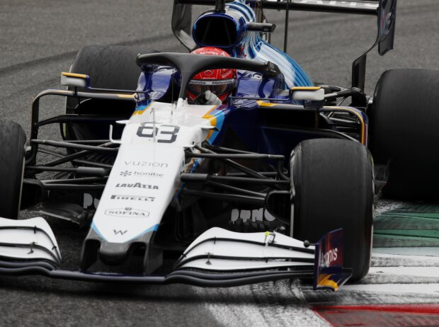 George Russell (Williams) im Training zum Formel-1-Rennen von Italien in Monza 2021