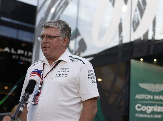 Otmar Szafnauer, Teamchef von Aston Martin, im Interview mit Sky