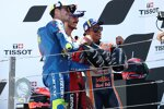 Francesco Bagnaia (Ducati), Marc Marquez (Honda) und Joan Mir (Suzuki)