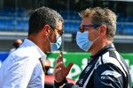 FIA-Rennleiter Michael Masi mit Safety-Car-Fahrer Bernd Mayländer