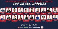 "Auszug aus Fahrerliste für ""Le Mans Virtual Series"" 2021/22, die E-Sport-Langstreckenserie"
