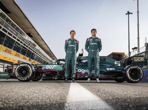 Fotoshooting in Monza: Hat Aston Martin beim Grand Prix von Italien schon das Teamfoto für die Bekanntgabe 2022 gemacht?