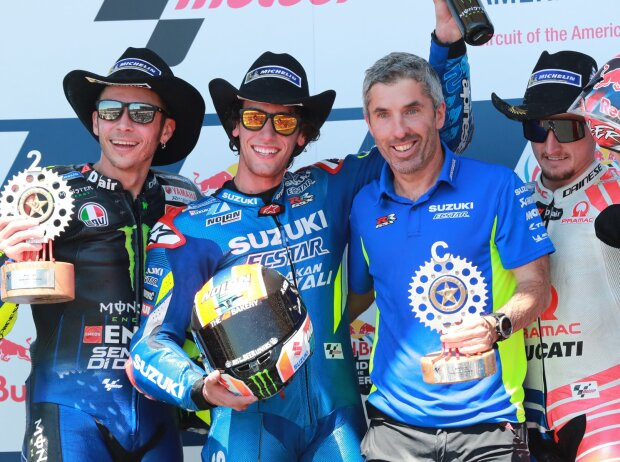 Valentino Rossi, Alex Rins, Jack Miller
