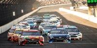 Renn-Action beim Brickyard 400 der NASCAR-Saison 2017 in Indianapolis