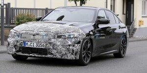 BMW 3er Limousine: News, Gerüchte, Tests