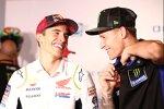 Marc Marquez (Honda) und Fabio Quartararo (Yamaha)