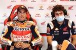 Marc Marquez und Santi Hernanddez (Honda)