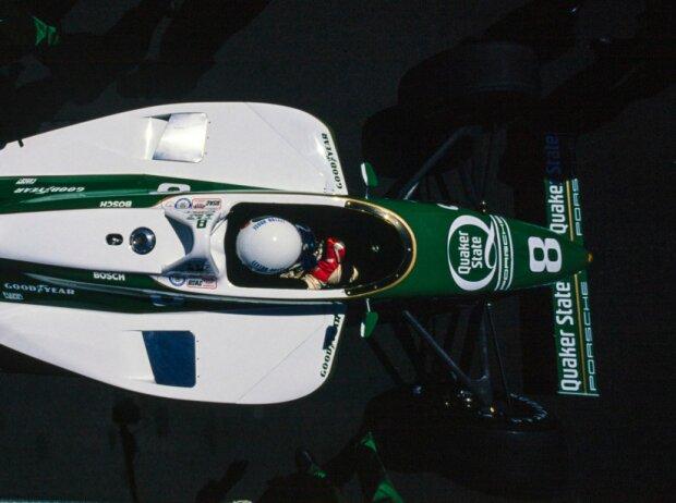 Teo Fabi im March-Porsche in der CART-Saison 1989