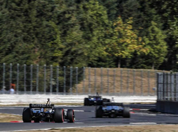IndyCar-Action auf dem Portland International Raceway