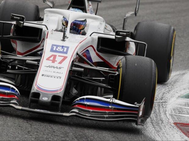 Mick Schumacher (Haas) beim Grand Prix von Italien in Monza 2021