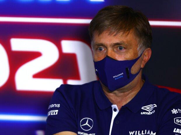 Williams-Teamchef Jost Capito bei einer FIA-Pressekonferenz