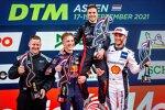 Liam Lawson (AF-Corse-Ferrari), Lucas Auer (Winward-Mercedes) und Marco Wittmann (Walkenhorst-BMW)