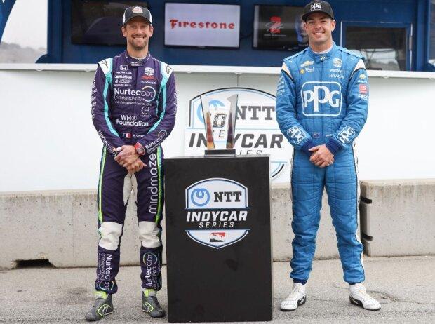 Romain Grosjean, Scott McLaughlin