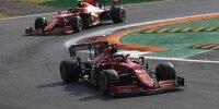 Charles Leclerc vor Ferrari-Teamkollege Carlos Sainz