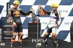 Remy Gardner (KTM Ajo) und Aron Canet (Aspar)