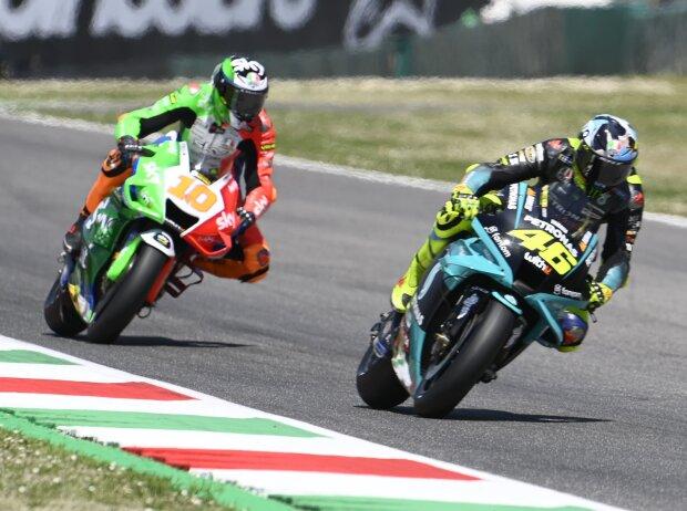 Valentino Rossi, Luca Marini