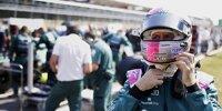 Formel-1-Autos hinter dem Safety-Car beim Großen Preis von Belgien 2021