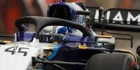 Roy Nissany (Williams) im Freien Training beim Formel-1-Rennen von Bahrain in Sachir 2021