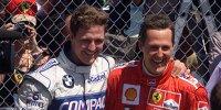 Ralf Schumacher, Michael Schumacher