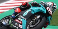 Andrea Dovizioso (Petronas-Yamaha) beim MotoGP-Test in Misano