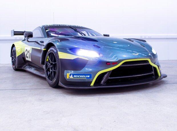 Aston Martin Vantage GT3 für Maxime Martin, Nicki Thiim und NLS8 2021