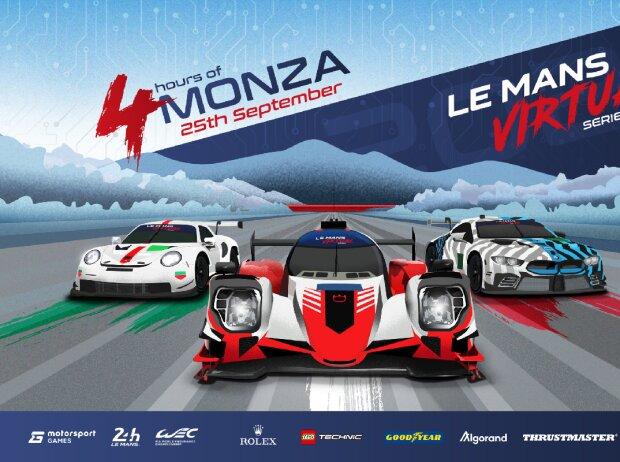 Grafik: 4h Monza virtuell