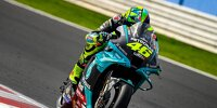 Valentino Rossi (Petronas-Yamaha) beim MotoGP-Test in Misano