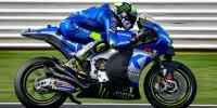 Joan Mir auf Suzuki für die MotoGP-Saison 2022 beim Misano-Test im September 2021
