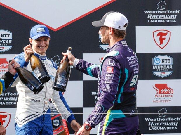 Romain Grosjean, Colton Herta, Alex Palou