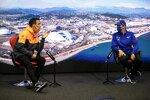 Daniel Ricciardo (McLaren) und Mick Schumacher (Haas)