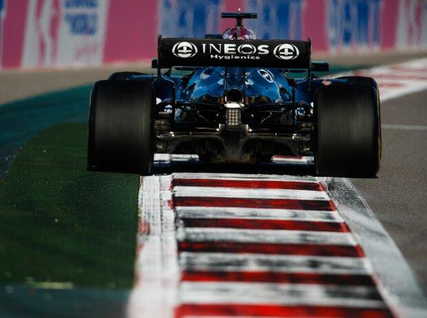 Lewis Hamilton (Mercedes) im Training zum Formel-1-Grand-Prix in Sotschi
