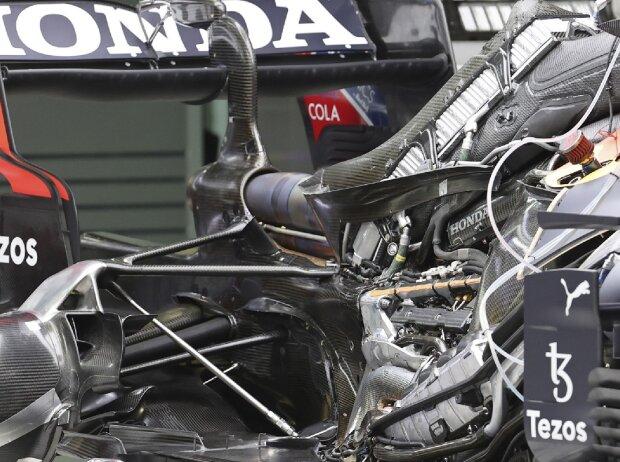 Formel-1-Antriebsstrang: Der Honda-Motor im Red Bull RB16B in der Saison 2021